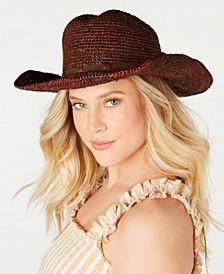 Raffia Dean Cowboy Hat