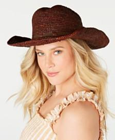 Frye Raffia Dean Cowboy Hat