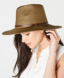 Straw Weston Fedora