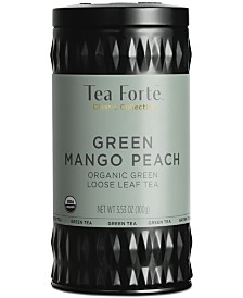 Tea Forte LTC Mango Peach Green Loose-Leaf Tea