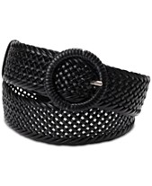 70f39c4356 I.N.C. Woven Braid Wrapped Buckle Belt, Created for Macy's