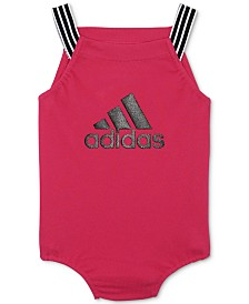 adidas Baby Girls Graphic-Print Bubble Bodysuit