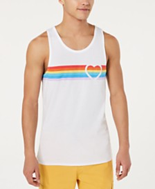 American Rag Men's Pride Heart Tank, Created for Macy's