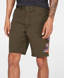 "American Rag Men's Twisted Palm 10"" Shorts, Created for Macy's"