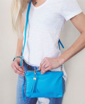 Vilah Bloom Simple Diaper Holder Clutch In Blue
