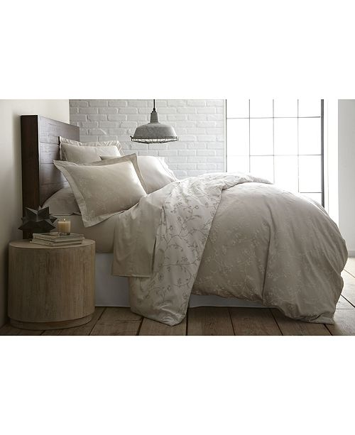 Southshore Fine Linens Boutique Chic Sweetbrier Reversible Cotton Duvet Cover Set, Twin/Twin XL
