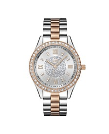 Women's Mondrian Diamond (1/6 ct.t.w.) Stainless Steel Watch