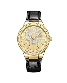 Women's Camille Diamond (1/6 ct.t.w.) 18k Gold Plated Stainless Steel Watch
