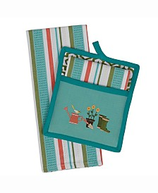 Garden Potholder Gift Set