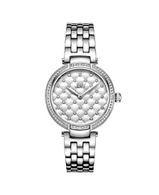 Women's Gala Diamond (1/5 ct.t.w.) Stainless Steel Watch