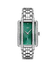 Women's Mink Diamond (1/8 ct.t.w.) Stainless Steel Watch