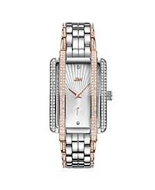 Women's Mink Diamond (1/8 ct.t.w.) Stainless Steel Watch