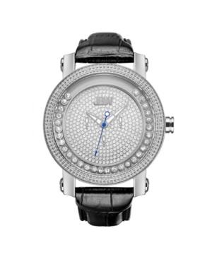 Jbw Men's Hendrix Diamond (1/5 ct.t.w.) Stainless Steel Watch