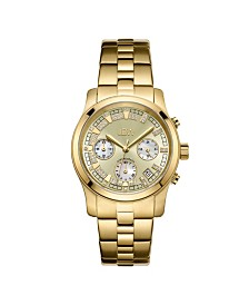 JBW Women's Alessandra Diamond (1/5 ct.t.w.) 18k Gold Plated Stainless Steel Watch
