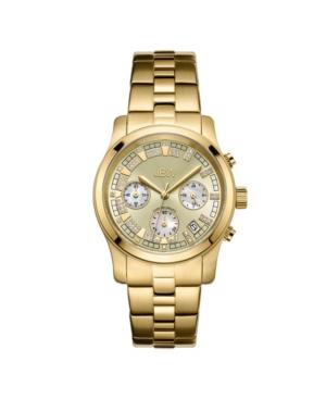 Women's Alessandra Diamond (1/5 ct.t.w.) 18k Gold Plated Stainless Steel Watch