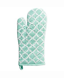 Lattice Oven Mitt and Potholder Set