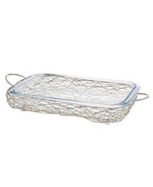 Nest Rectangular Glass Baker
