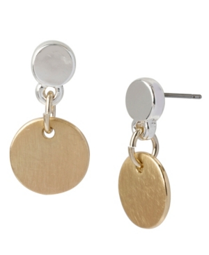 Kenneth Cole New York Circle Drop Earring
