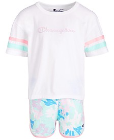 Champion Toddler Girls 2-Pc. T-Shirt & Shorts Set