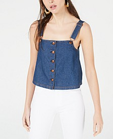 Cotton Denim Tank Top