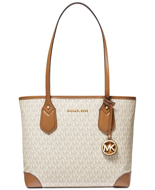 b54c92c9d3a Michael Kors Eva Signature Medium Tote & Reviews - Handbags ...