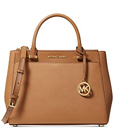 MICHAEL Michael Kors Gibson Leather Satchel