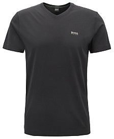 BOSS Men's Teevn Regular-Fit V-Neck Cotton T-Shirt