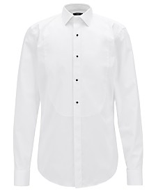 BOSS Men's Jant Formal Slim-Fit Cotton Shirt