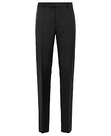 BOSS Men's T-Lone LC Regular-Fit Formal Wool Trousers