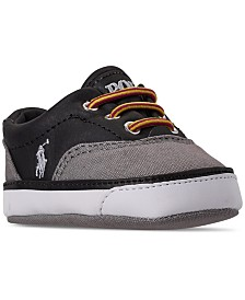 Polo Ralph Lauren Baby Boys' Vaughn II Layette Slip-On Casual Sneakers from Finish Line