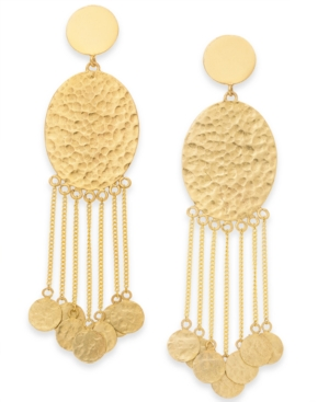 Image of Thirty One Bits Cha Cha Fringe Earrings from The Workshop at Macy's