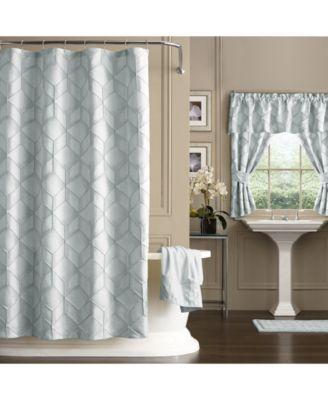 Horizons Extra Long Shower Curtain