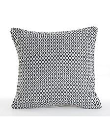 Bustling Geometric Throw Pillow