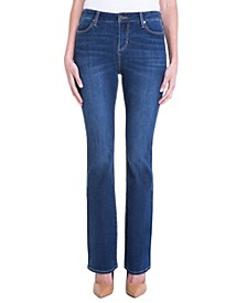 Lucy Boot In 4-Way Stretch Contour Denim