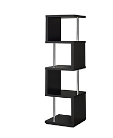 Harlan 4-Shelf Bookcase