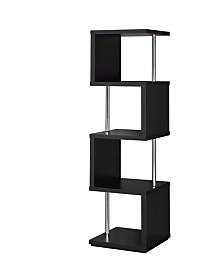 Harlan 4-Shelf Bookcase