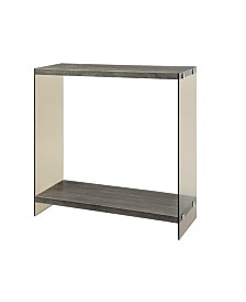 Clayton Sofa Table with Glass Sides