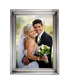 "Brushed Pewter Metal Picture Frame - 5"" x 7"""