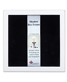 "790288 White Wood Shadow Box Picture Frame - 8"" x 8"""