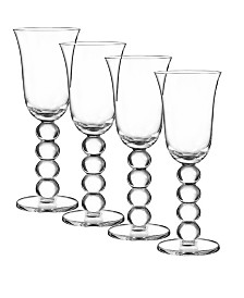 Qualia Glass Orbit Wine Glasses, Set Of 4