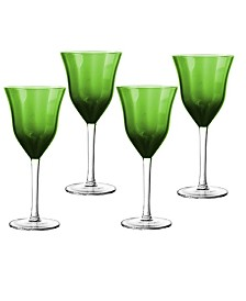 Qualia Glass Meridian Wine Glasses, Set Of 4
