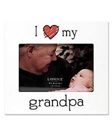"""""""I Love My Grandpa"""" Picture Frame - 6"""" x 4"""""""