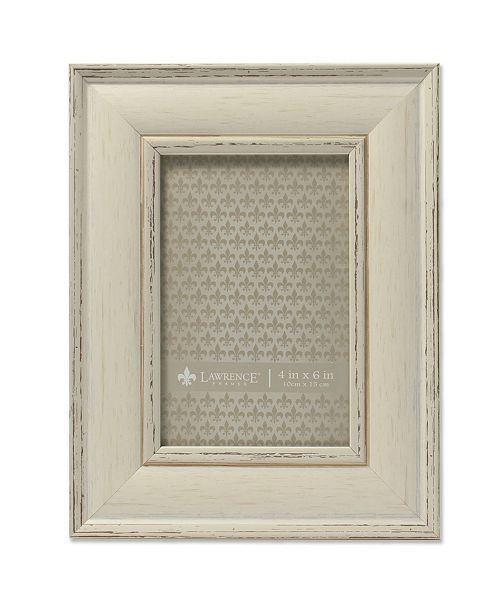 """Lawrence Frames Weathered Ivory Picture Frame - Domed Top - 4"""" x 6"""""""