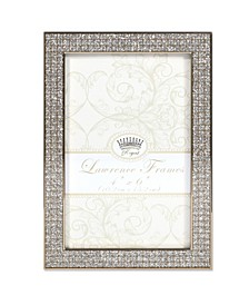 "Turner Gold and Glitter Metal Picture Frame - 4"" x 6"""