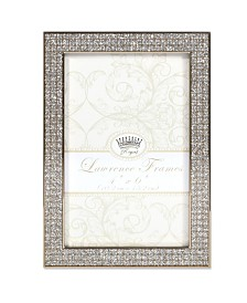 """Lawrence Frames Turner Gold and Glitter Metal Picture Frame - 4"""" x 6"""""""