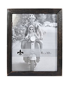 "Charlotte Weathered Black Wood Picture Frame - 8"" x 10"""