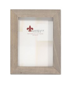 """Lawrence Frames Gray Wood Picture Frame - Gallery Collection - 2"""" x 3"""""""