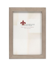 """Lawrence Frames Gray Wood Picture Frame - Gallery Collection - 4"""" x 6"""""""