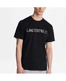 Karl Lagerfeld Paris Foil Logo Tee Shirt