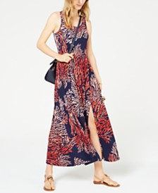 MICHAEL Michael Kors Petite Tahitian Reef Maxi Dress